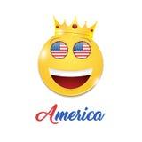 Symbol z koroną Zdjęcia Royalty Free