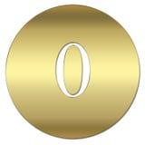 symbol złota Zdjęcie Stock