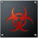 symbol zagrożenia biologicznego Zdjęcie Stock