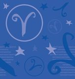 Symbol Zodiac Sign. Of circle vector Royalty Free Stock Photos