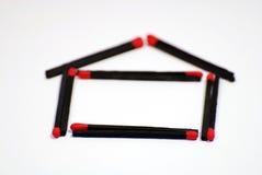 Symbole à la maison Image libre de droits