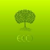 Symbole écologique de vecteur Photographie stock libre de droits