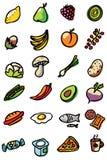 symbole żywności ilustracji