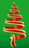 Symbole 4 d'arbre de Noël Photographie stock libre de droits