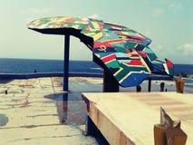 Symbole africain d'unité Images stock