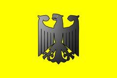 Symbole allemand d'aigle image libre de droits
