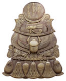 symbole antique d'Egyptien de coléoptères Images libres de droits
