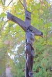 Symbole antique de la foi chrétienne photo libre de droits