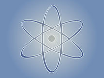 Symbole atomique Photographie stock
