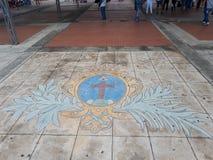 Symbole catholique Image libre de droits