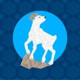 Symbole 2015 chinois de zodiaque de nouvelle année Photo libre de droits