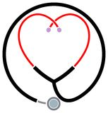 Symbole clinique d'aide illustration stock