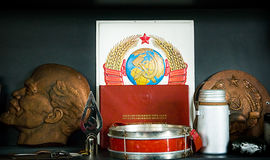 Symbole communism fotografia stock