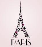 Symbole culturel de Paris Photos libres de droits