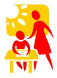 Symbole d'école Photographie stock libre de droits