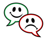 Symbole d'émotion illustration libre de droits