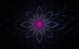 Symbole d'étoile de l'espace Photo libre de droits