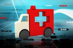 Symbole d'ambulance Photos libres de droits