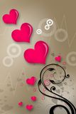 Symbole d'amour Photographie stock