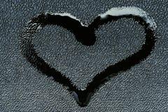 Symbole d'amour sous forme de coeur photographie stock libre de droits