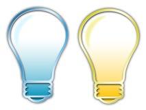 Symbole d'ampoule d'Eletric Photographie stock