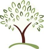 Symbole d'arbre Photographie stock