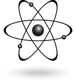 Symbole d'atome Photos stock