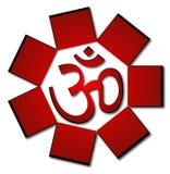Symbole d'aum de l'OM Images libres de droits
