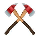 Symbole d'Axes de sapeur-pompier illustration de vecteur