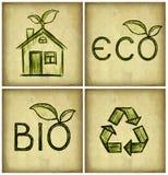 Symbole d'Eco Image libre de droits