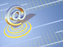 Symbole d'email Images stock