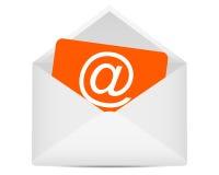 Symbole d'email illustration libre de droits