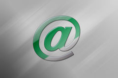 Symbole d'email illustration libre de droits