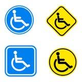 Symbole d'handicap Photographie stock