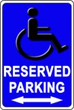 symbole d'handicap Photos stock