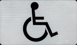 Symbole d'handicap Photos libres de droits