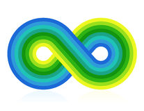 Symbole d'infini Images stock