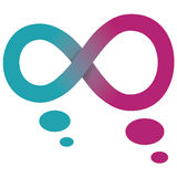 Symbole d'infini Photo stock
