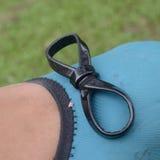 Symbole d'infini dans le lacet de chaussure Images libres de droits