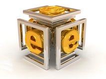 symbole d'Internet d'infini illustration de vecteur