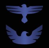 Symbole d'oiseau Photo stock