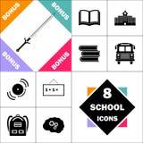 Symbole d'ordinateur d'épée illustration stock