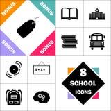 Symbole d'ordinateur d'étiquette Photos libres de droits