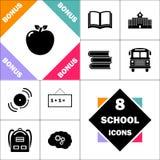 Symbole d'ordinateur Apple illustration libre de droits