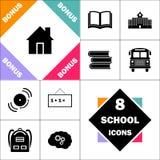 Symbole d'ordinateur de Chambre illustration libre de droits