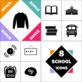 Symbole d'ordinateur de chandail illustration libre de droits