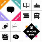 Symbole d'ordinateur de citation Illustration Stock