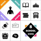 Symbole d'ordinateur de cowboy Image libre de droits