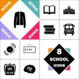 Symbole d'ordinateur de veste Photographie stock