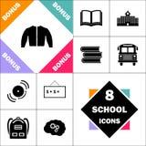 Symbole d'ordinateur de veste illustration de vecteur